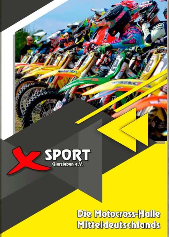 Broschüre 12-Seiter X-Sport Giersleben