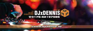DJxDennis Banner3x1m