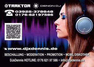 DJxDennis Musikwuschkarte 1