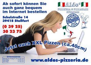 Flyer Pizzeria Lbb
